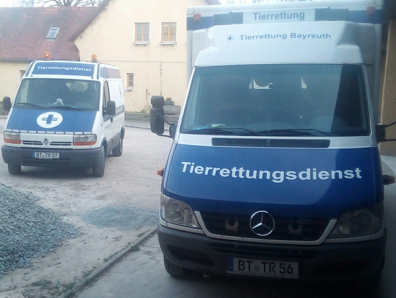 Tierrettung Bayreuth e.V.   (Tierrettungsdienst für Klein und Wildtiere))